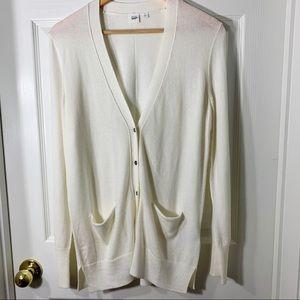 GAP Off White  Long Merino Wool Cardigan  XS&S